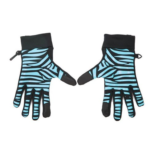 Touch Gloves - Rider section - zebra
