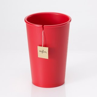 Ecojun Original green original Green series - environmentally friendly materials accompanying cup - red