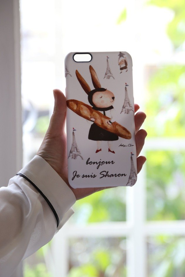 I love Paris mobile phone case