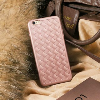 iPhone6/Phone case/Soft shell/Gift/Weave/Metal texture/knit
