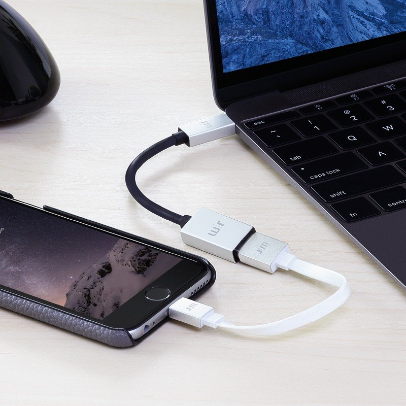 J|M AluCable USB-C 3.1 to USB Adapter  DC-358