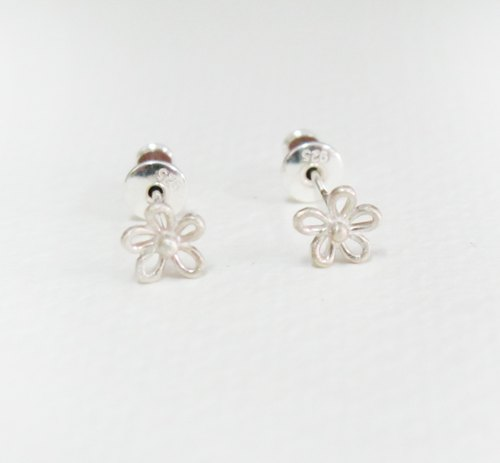 Màn workers [spring flower earrings X]