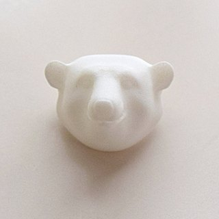 polar bear brooch