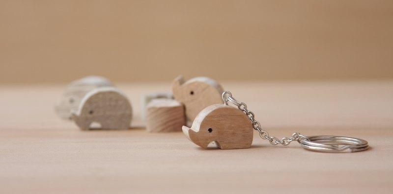 HO MOOD 動物系列—小犀牛 鑰匙圈