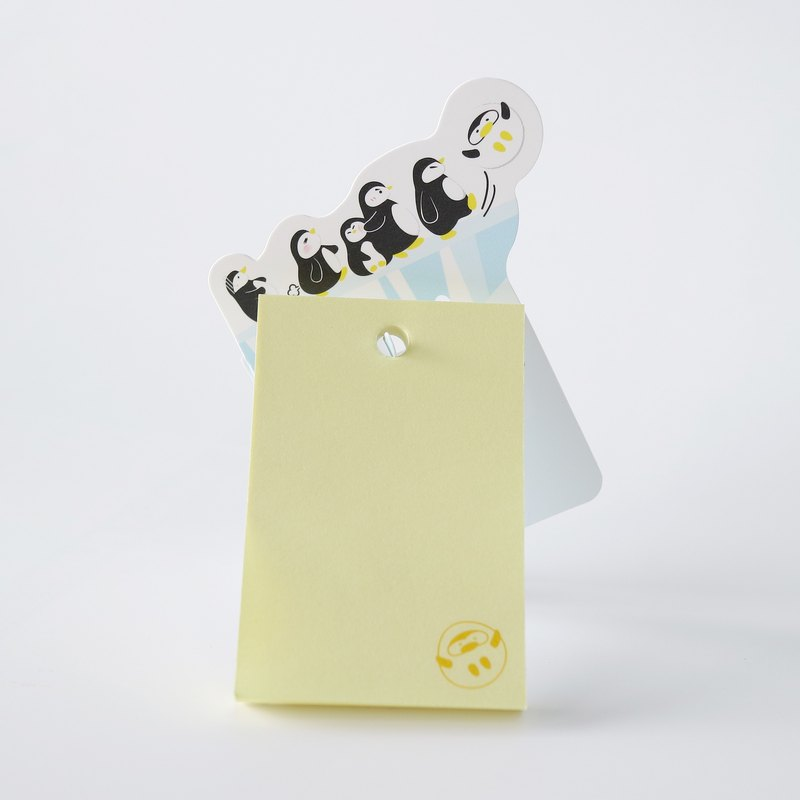 【OSHI】New Memo Hanger-Line up Penguins