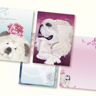 [Bark] exquisite hand-painted postcards (set of two)
