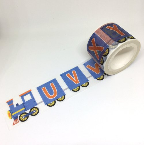 Railway Series masking tape : Letter train