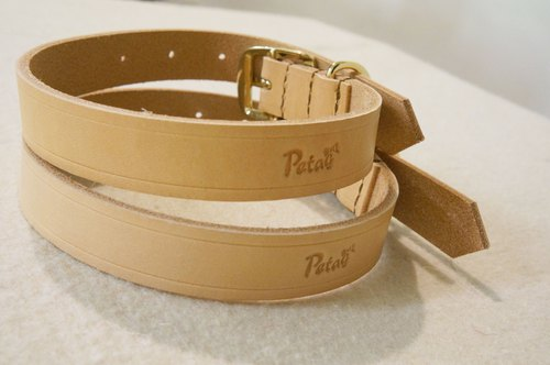 (welfare goods) leather collar L