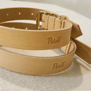 (welfare) leather collar L