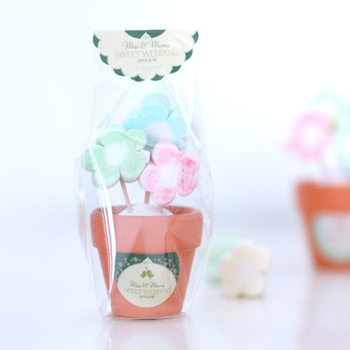 Candy flower small ceremony - wedding small things, birthday gifts, births ceremony