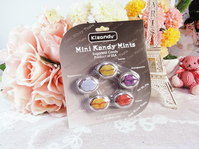 【Kizandy】 Mini Fruit Flavor Sugar - Fashion (25g)