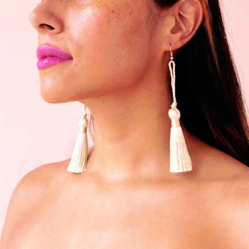 TASSEL EARRINGS SUMMER COLLECTION 2015