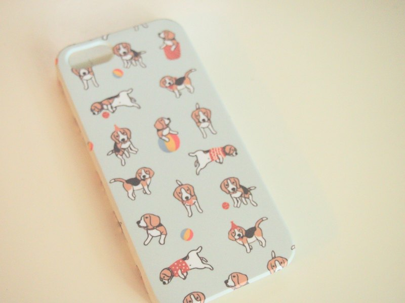 Baby Beagle Party iPhone 5/5s, 4/4s case