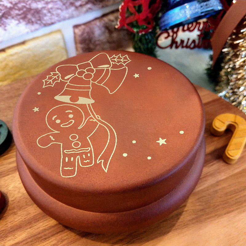 [Christmas] Christmas gingerbread man custom // Music Box