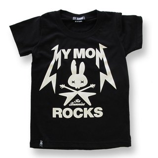 我的酷媽咪 T恤 - My MOM Rocks T-Shirts #SIX BUNNIES