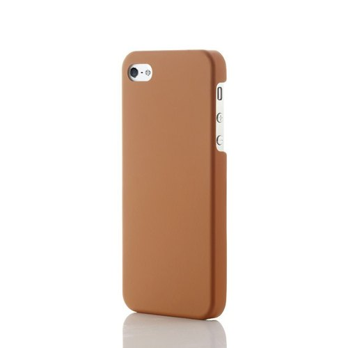 S55- thin orange fiberglass thin protective shell -iPhone5-