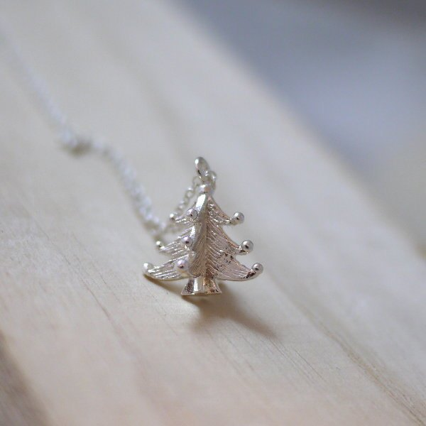 [Jin Xialin ‧ necklace silver Christmas tree ornaments]