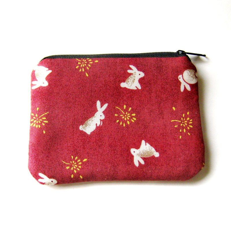 Zipper pouch / coin purse (padded) (ZS-56)