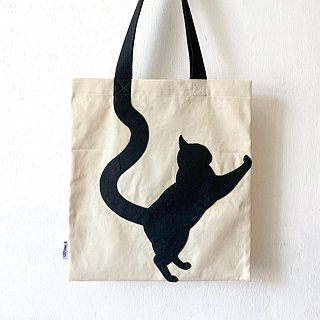 Animal Tote Bag: Climbing Cat