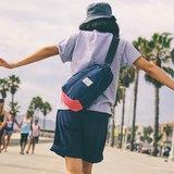 火柴木設計 Matchwood Hunter Shoulder Bag 單肩後背包 側背包 斜背包 腳踏車包 海軍藍桃紅 男女適用