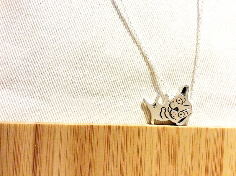 ✿ hand carved silver medal practice ✿ wrestling life series of animals ♦ fall down ~ dog