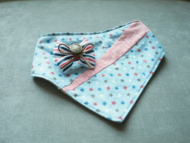 Baby corsages and Triangle Scarf Set