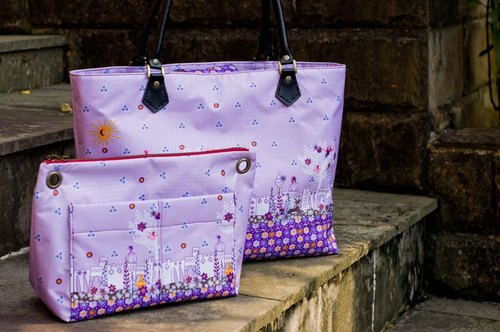 Love the Earth picture hand-made bag * waterproof bag | stock