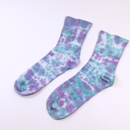 Tie Dye/Socks/Women/Men [Blue Dream]