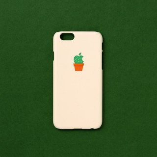 iPhone case - cactus logo - for iPhones - non-glossy L21 - Designed in Korea