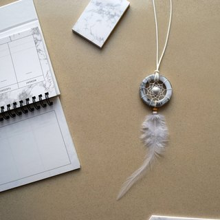 Dream Catcher // Necklace // Marble