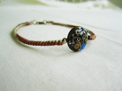〆 steam punk bracelet _B023