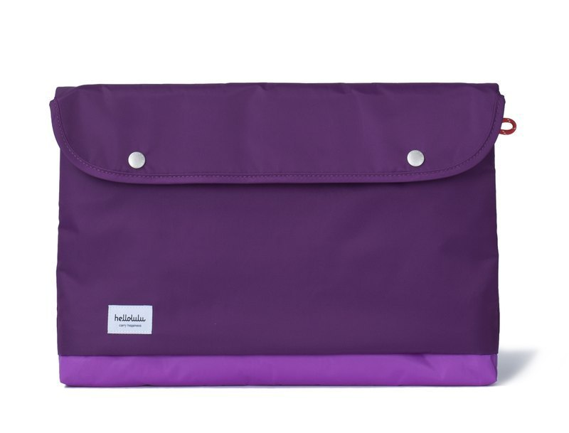 Hellolulu Tess-15 吋 portable hand bag (purple)