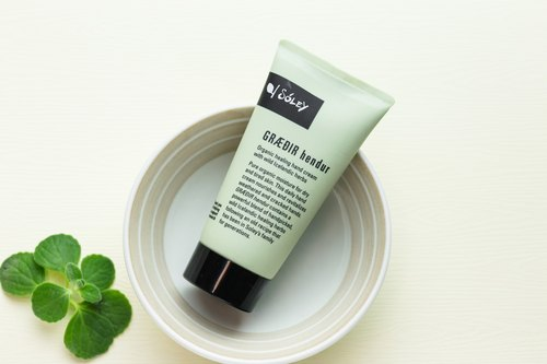 Iceland Soley Organics | extraction plant Revitalizing Hand Cream
