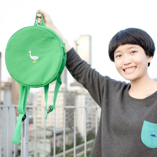 Reversing radar - Mr. Duck / round backpack (sold out!)