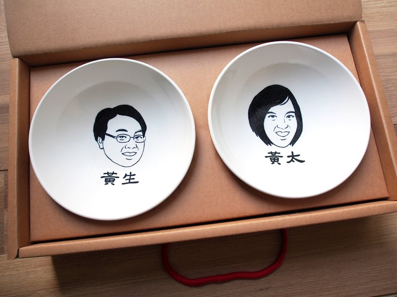 【Customized】Portrait bowl-single (life-like detail)