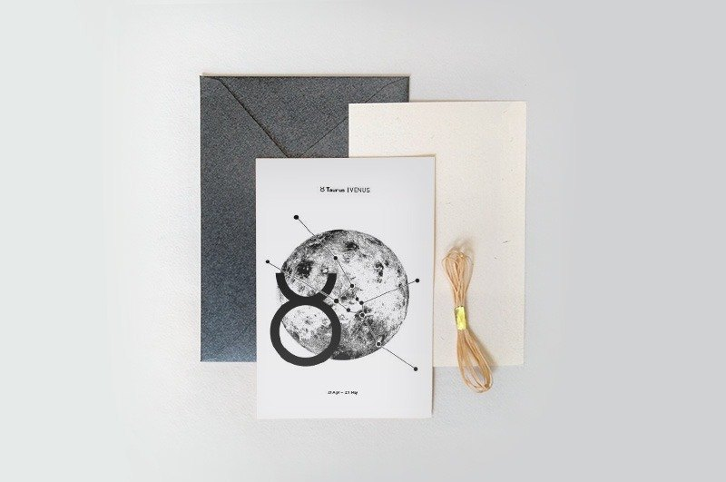 Constellation / Planet Series - Taurus | Venus - Cards / Postcards