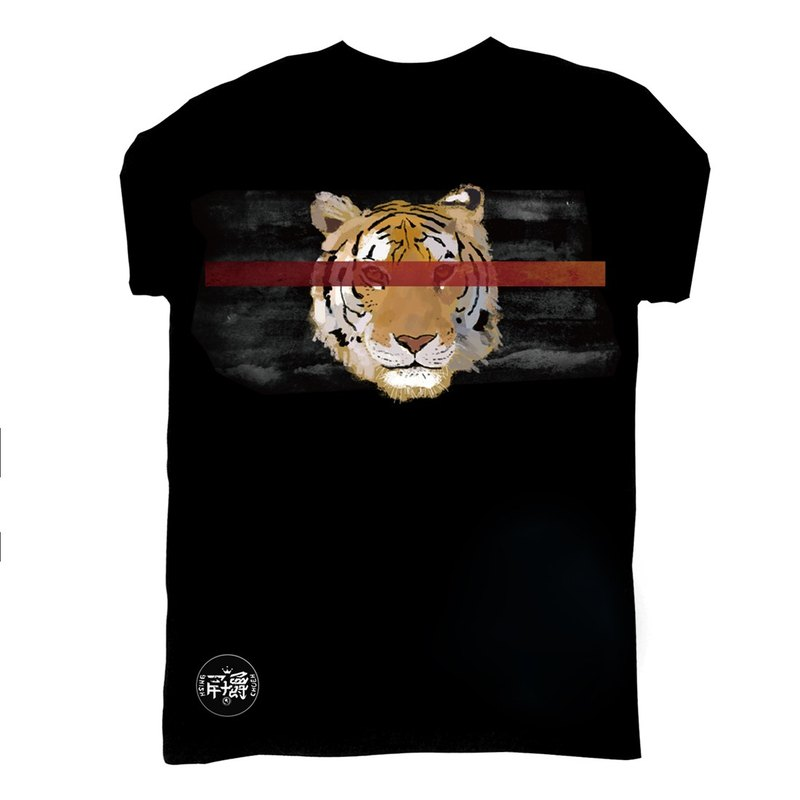 Tiger short-sleeved T-shirt Tiger タイガー