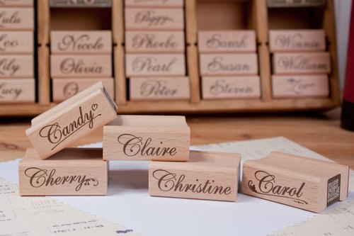 In your name English name stamp -C