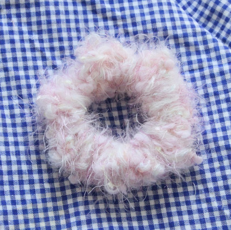Delicious donuts | Imported color mixing ice cream wool hand-woven bracelets hair band multi-Moe Japanese bowel must-haves