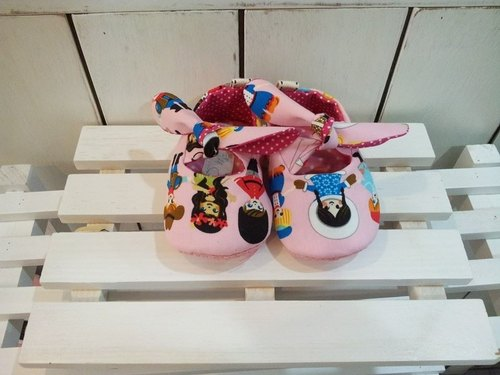UN baby girl toddler shoes (12cm) (pink)
