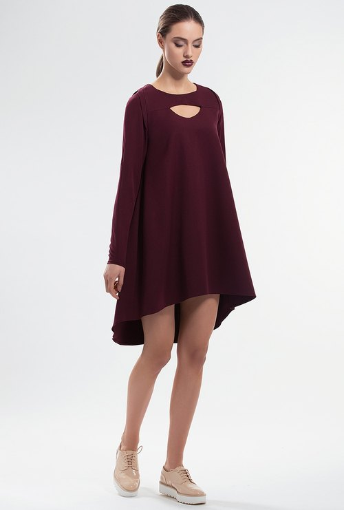 Ripple Asymmetric Dress