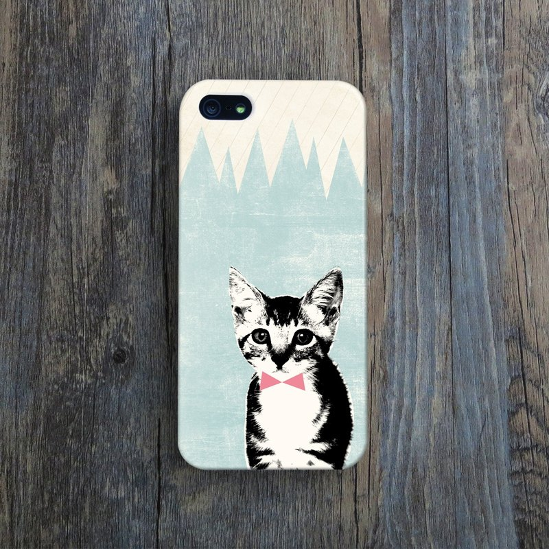 OneLittleForest - Original Mobile Case - iPhone 4, iPhone 5, iPhone 5c- cat meow