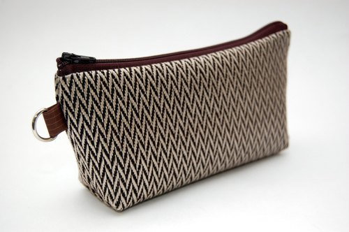 Casual-life hand-made fashion cosmetic bag / admission package names