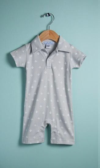 Feather Baby - Baby Romper Polo (Florence totem)