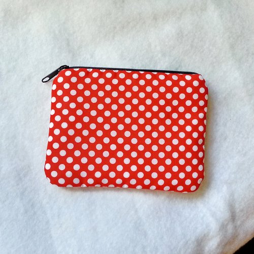 Zipper pouch / coin purse (padded) (ZS-19)
