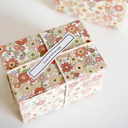 Holiday party box gift box S (3 in) -03 Tasha Du beautiful flower garden, E2D82153
