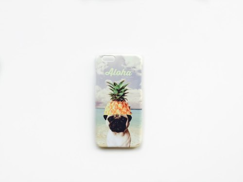 [ YONG ] ALOHA Pug iPhone Case (4 or 5 Series)