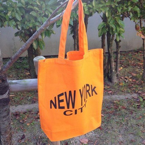 NEW YORK CITY Tote Bag (Orange)