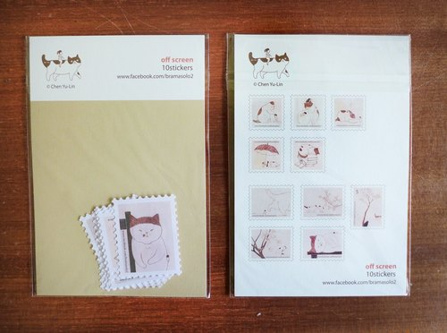 Psychological drama series stamp sticker 10 into 68 yuan
