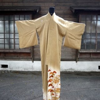 Japan Shochiku gorgeous antique kimono embroidery